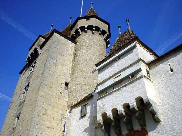 Le Château d'Aigle.