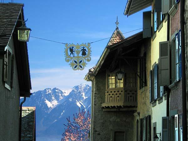 Lavaux: le village d'Epesses...