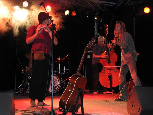 Abraxas, World Music Festiv'Alpe, Château-d'Oex, jeudi 7 août 2003.
