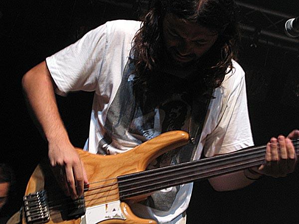 Elbicho, World Music Festiv'Alpe, Château-d'Oex, jeudi 7 août 2003.