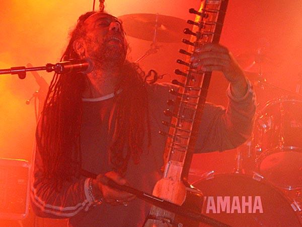 Mad Sheer Khan, World Music Festiv'Alpe, Château-d'Oex, vendredi 8 août 2003.