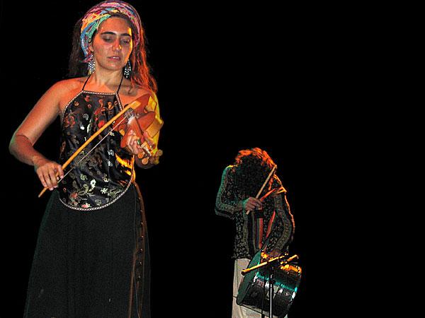 Renata Rosa, World Music Festiv'Alpe, Château-d'Oex, samedi 9 août 2003.