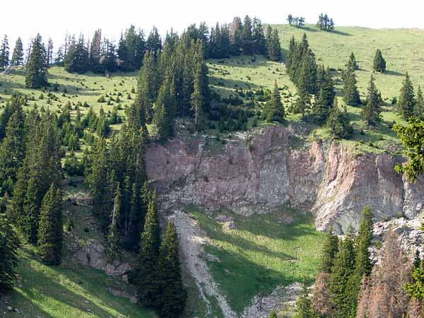 Quelque part au-dessus du Gros Mont, mai 2003...