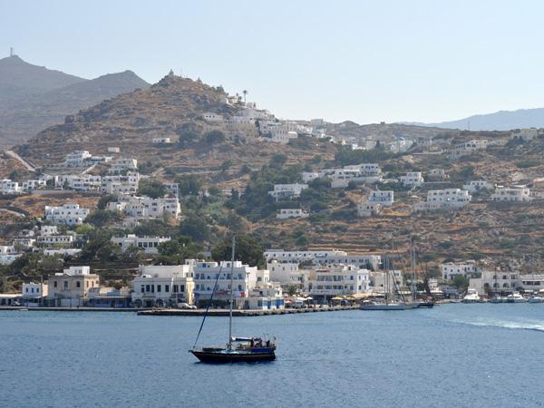 Aspects de Ios, l'île de la fête sans fin, septembre 2011.