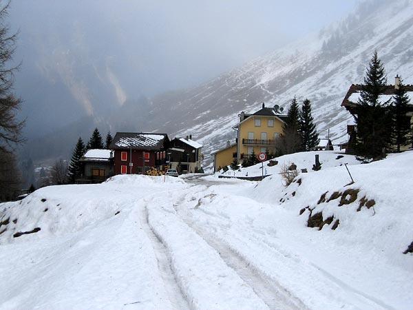 Le village de Ferret (Valais), au bout de la vallée du même nom.