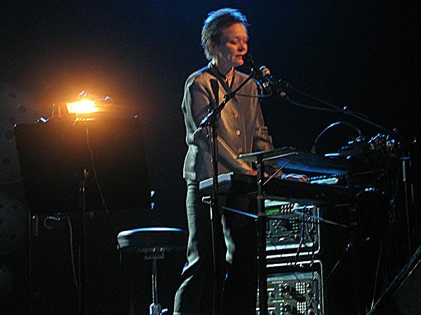Montreux Jazz Festival 2003: Laurie Anderson, July 14, Miles Davis Hall