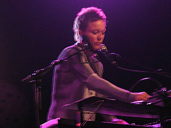 Montreux Jazz Festival 2003: Laurie Anderson, July 14, Miles Davis Hall