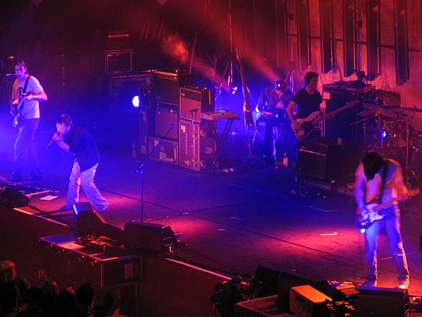 Montreux Jazz Festival 2003: Radiohead, July 5, Auditorium Stravinski