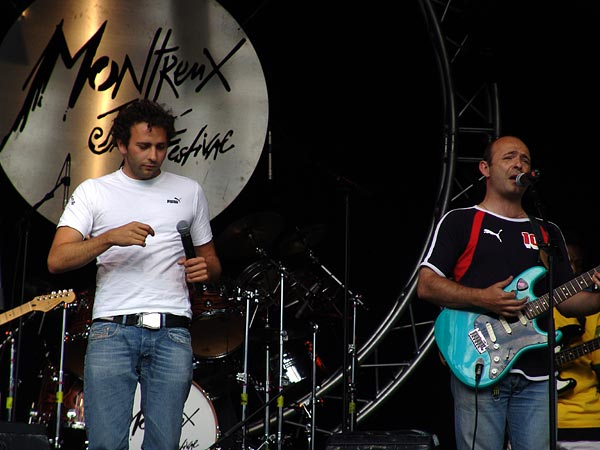 Montreux Jazz Festival 2004: Feed Back, July 2, Parc Vernex