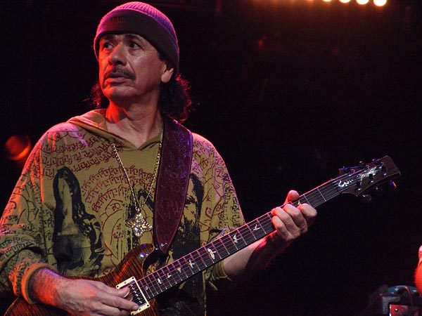 Montreux Jazz Festival 2004: Carlos Santana, special guest with Clarence Gatemouth Brown, July 12, Auditorium Stravinski