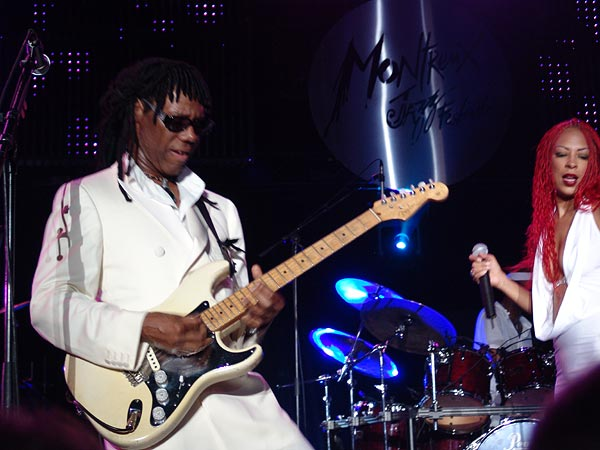 Montreux Jazz Festival 2004: Nile Rodgers & Chic, July 17, Auditorium Stravinski