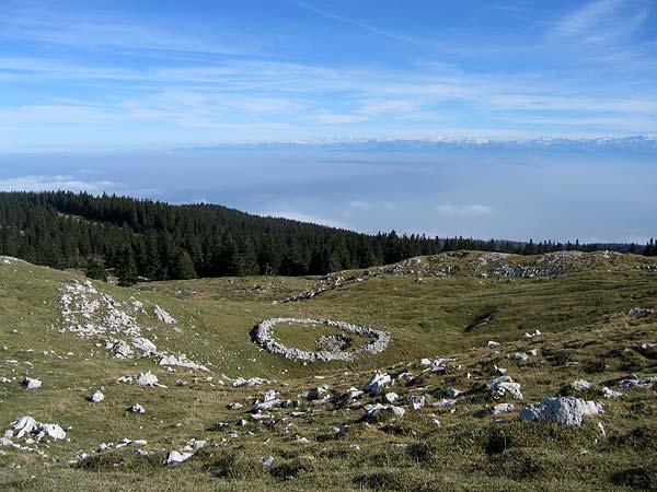 Au sommet du Mont-Tendre.