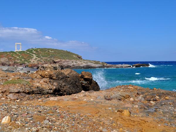 Portara (Temple d'Apollon), Chóra, Naxos, avril 2012.