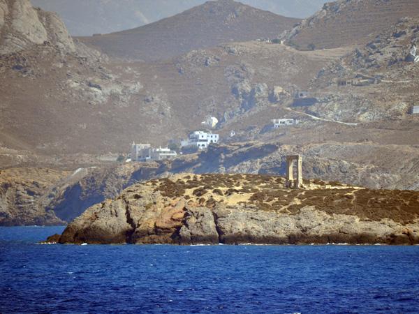 Portara (Temple d'Apollon), Chóra, Naxos, septembre 2011.