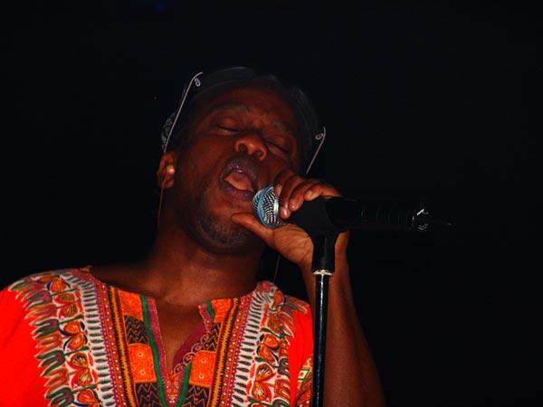 Corey Glover (Living Colour), Ned - Montreux Music Club, vendredi 5 novembre 2004.