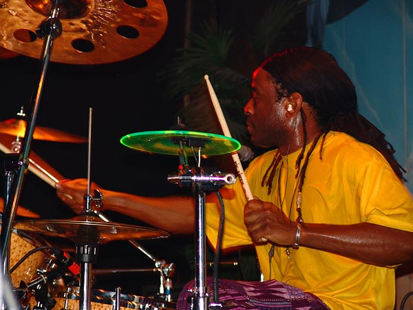 Will Calhoun (Living Colour), Ned - Montreux Music Club, vendredi 5 novembre 2004.