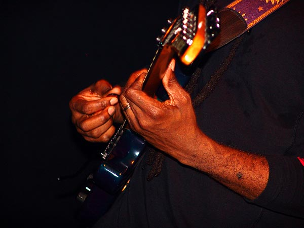 Vernon Reid (Living Colour), Ned - Montreux Music Club, vendredi 5 novembre 2004.