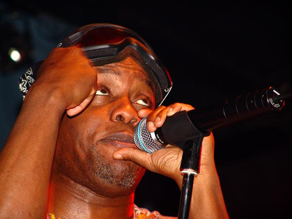 Corey Glover (Living Colour), Ned - Montreux Music Club, vendredi 5 novembre 2004.