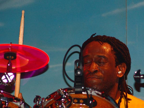 Will Calhoun (Living Colour), Ned - Montreux Music Club, vendredi 5 novembre 2004.