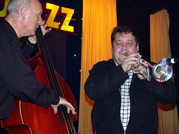 Nuits du Jazz 2004: jam session avec André Wentzo et Daniel Thentz.