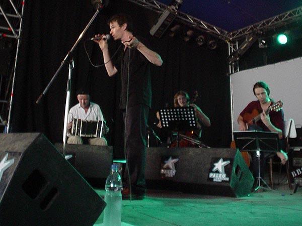François Vé, Paléo Festival Nyon, Club Tent, samedi 27 juillet 2002.