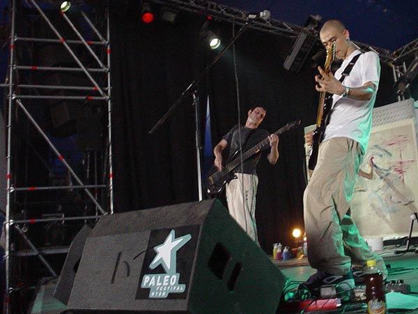 Noï, Paléo Festival Nyon, Club Tent, dimanche 28 juillet 2002.