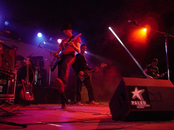 Polar, Paléo Festival Nyon, Club Tent, 23 juillet 2002.