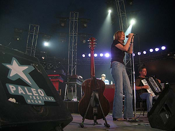 Paléo Festival 2003: Beth Gibbons & Rustin' Man, July 26, Chapiteau