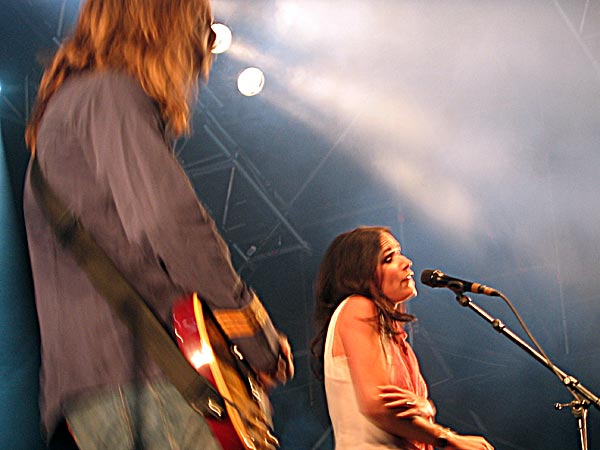 Paléo Festival 2003: The Cardigans, July 25, Grande Scène