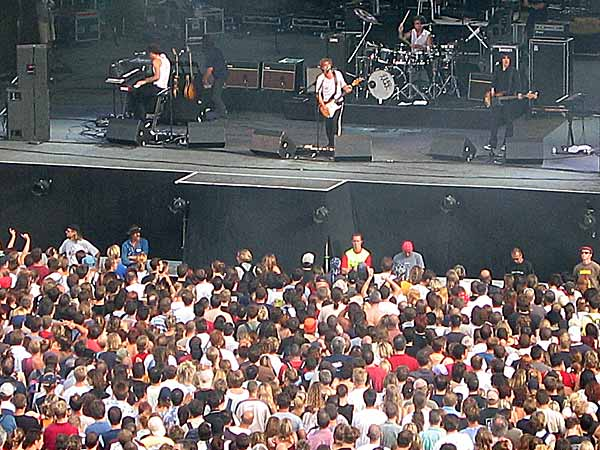 Paléo Festival 2003: Jean-Louis Aubert, July 25, Grande Scène