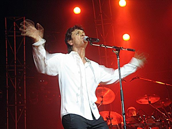 Paléo Festival 2003: Marc Lavoine, July 25, Chapiteau