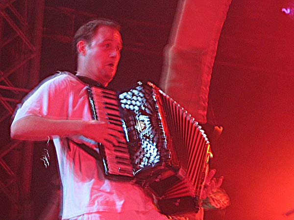 Paléo Festival 2003: Tryo, July 22, Chapiteau