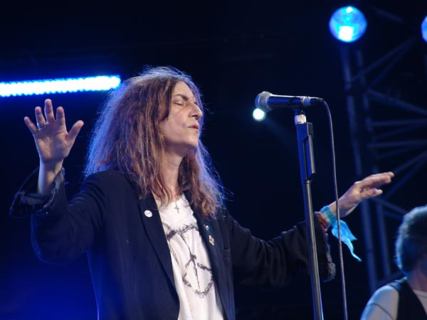 Paléo Festival 2004: Patti Smith, July 20, Chapiteau