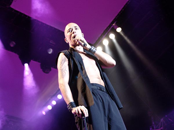 Paléo Festival 2004: Pascal Obispo, July 22, Grande Scène