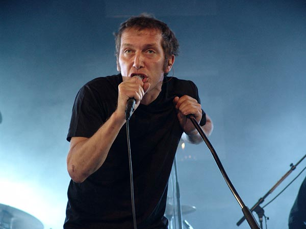 Paléo Festival 2004: Miossec, July 23, Chapiteau