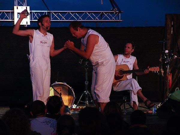 Paléo Festival 2004: Les Biscômes, July 24, La Crique