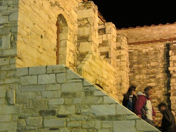 Basilique de la Panaghia Katapoliani, Parikia, Paros, Cyclades, avril 2012.