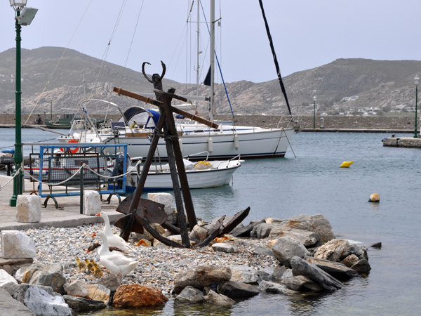 Naoussa, Paros, Cyclades, avril 2012.