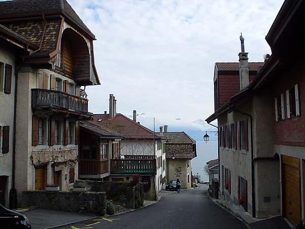 Lavaux: le village de Rivaz.