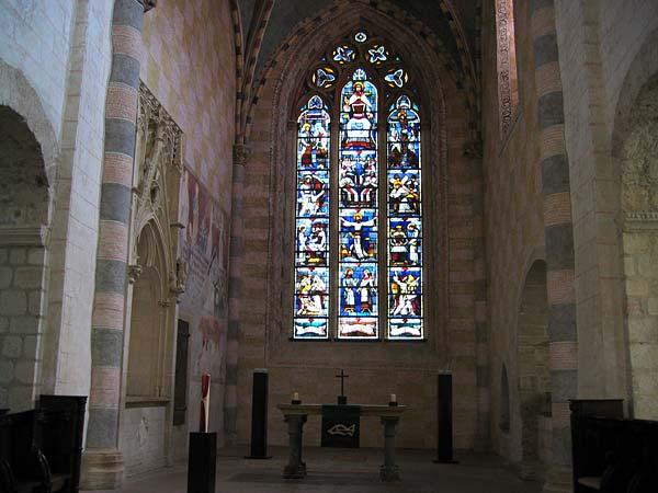 L'Abbatiale de Romainmôtier.