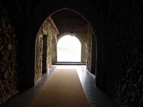 Rolle: un couloir du château.