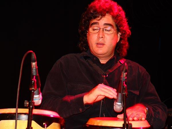 José Briceño (Atmosphère), Ned Montreux, Fête du 10e anniversaire et inauguration de la Grande Salle, 13 novembre 2004.