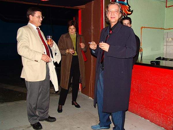 Pierre Salvi, syndic de Montreux, au Ned Music Club de Montreux lors de la Fête du 10e anniversaire et de l'inauguration de la Grande Salle, samedi 13 novembre 2004.