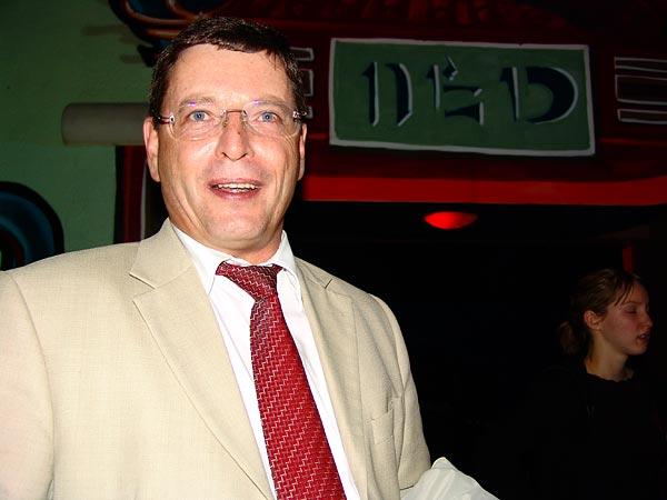 M. Pierre Salvi, syndic de Montreux, Ned Music Club, Montreux, Fête du 10e anniversaire et inauguration de la Grande Salle, 13 novembre 2004.