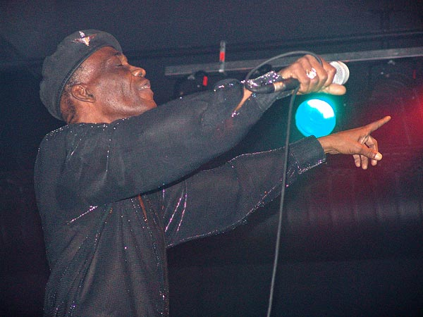 Desmond Dekker, Ned Music Club Montreux, 26 novembre 2004.