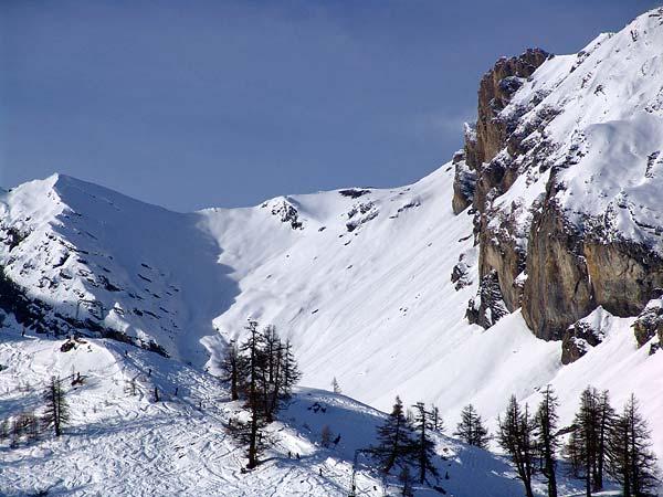 Domaine skiable d'Ovronnaz, 29 décembre 2004.