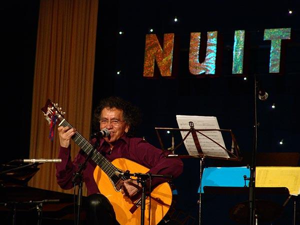 José Barrensé-Dias aux Nuits du Jazz de Chernex-sur-Montreux, vendredi 4 mars 2005.