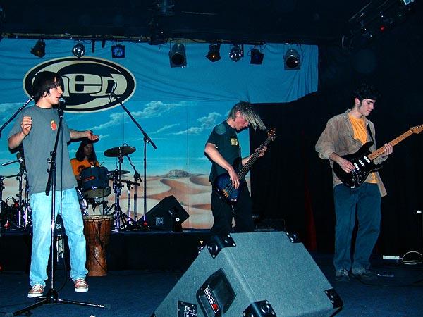 Mahagony (Leysin), Ned - Montreux Music Club, vendredi 11 mars 2005.