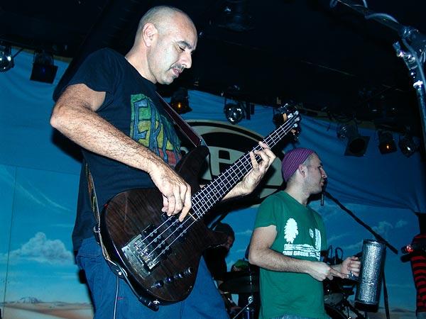 Chico Trujillo (Chili), Ned - Montreux Music Club, vendredi 11 mars 2005.