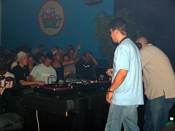 Black Chiney Sound System from Miami, USA, Ned - Montreux Music Club, samedi 19 mars 2005.